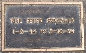 Gonzals, Neil Peter