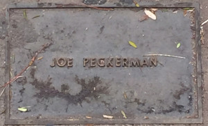 Peckerman, Joe