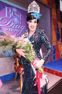 """Jeffrey Ewell (Miss New York """"Sandy Claus"""") 14th Annual Best in Drag Show Benefit for Aid for Aids Raised over $500,000 for people living with HIV/Aids Orpheum Theatre Los Angeles, Ca 10/2/16 © HWise/jpistudios.com 310-657-9661"""