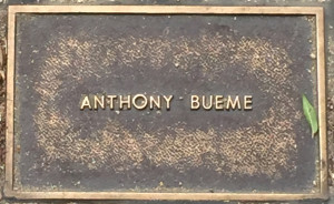 Bueme, Anthony