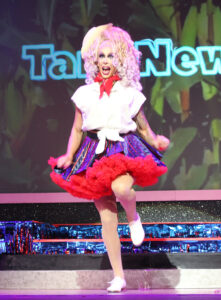 """Tara Newhole (Drew Schwierman) Miss Indiana Taping of """"18th Annual Best in Drag Show Benefit for Aid for Aids Raising over Money for people living with HIV/Aids Orpheum Theatre Los Angeles, Ca 10/17/20 © John Paschal/jpistudios.com 310-657-9661"""