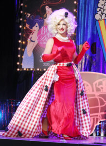 """Holly Hobby (Miss Utah)-Peter Korth Taping of """"18th Annual Best in Drag Show Benefit for Aid for Aids Raising over Money for people living with HIV/Aids Orpheum Theatre Los Angeles, Ca 10/17/20 © John Paschal/jpistudios.com 310-657-9661"""
